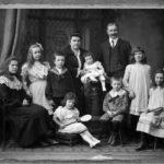 Одежда состоятельной русской семьи